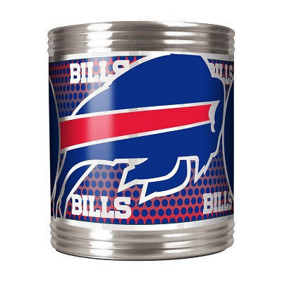 NFL Officially licensed products Buffalo Bills Stainless Steel Can Holder with Metallic Graphics This officially licensed ca