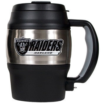 NFL Officially licensed products Oakland Raiders 20 Oz. Thermal Jug This officially licensed 20 oz. thermal jug is great for