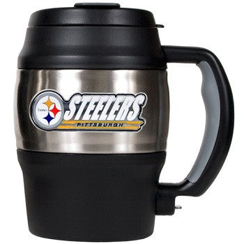NFL Officially licensed products Pittsburgh Steelers 20 Oz. Thermal Jug This officially licensed 20 oz. thermal jug is great