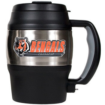 NFL Officially licensed products Cincinnati Bengals 20 Oz. Thermal Jug This officially licensed 20 oz. thermal jug is great