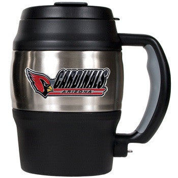 NFL Officially licensed products Arizona Cardinals 20 Oz. Thermal Jug This officially licensed 20 oz. thermal jug is great f