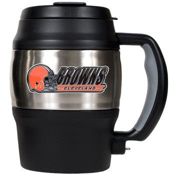 NFL Officially licensed products Cleveland Browns 20 Oz. Thermal Jug This officially licensed 20 oz. thermal jug is great fo