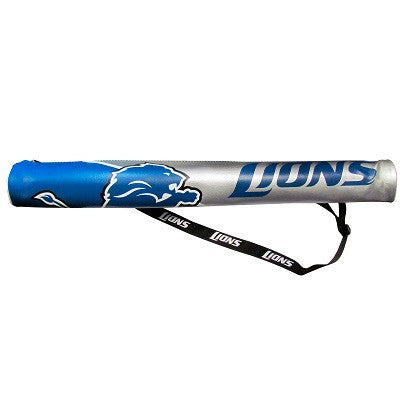 NFL Officially licensed products Detriot Lions Can Shaft Cooler Covered with NFL Team logo art with bold graphics, you can s