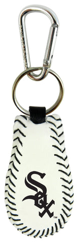 Chicago White Sox Baseball Keychain