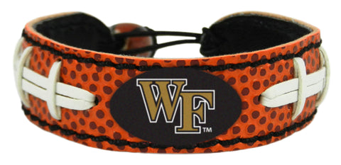 Wake Forest Demon Deacons Classic Football Bracelet