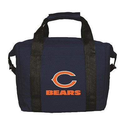 NFL Officially licensed products Chicago Bears 12 Pack Soft-Sided Cooler This officially licensed 12-pack cooler is perfect