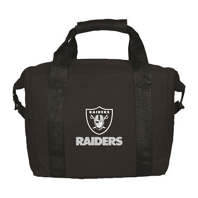 NFL Officially licensed products Oakland Raiders 12 Pack Soft-Sided Cooler This officially licensed 12-pack cooler is perfec