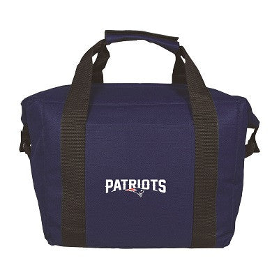 NFL Officially licensed products New England Patriots 12 Pack Soft-Sided Cooler This officially licensed 12-pack cooler is p