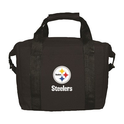 NFL Officially licensed products Pittsburgh Steelers 12 Pack Soft-Sided Cooler This officially licensed 12-pack cooler is pe