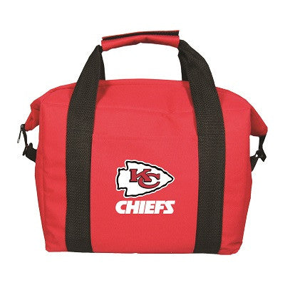 NFL Officially licensed products Kansas City Chiefs 12 Pack Soft-Sided Cooler This officially licensed 12-pack cooler is per