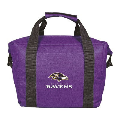 NFL Officially licensed products Baltimore Ravens 12 Pack Soft-Sided Cooler This officially licensed 12-pack cooler is perfe