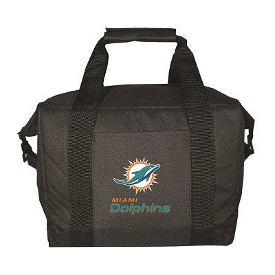 NFL Officially licensed products Miami Dolphins 12 Pack Soft-Sided Cooler This officially licensed 12-pack cooler is perfect