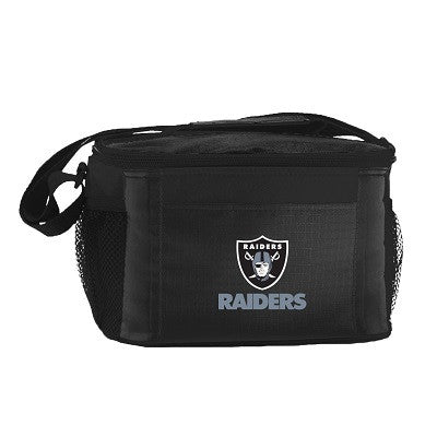NFL Officially licensed products Oakland Raiders 6-Pack Cooler/Lunch Box This officially licensed 6-pack cooler / lunch box