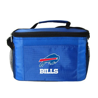 NFL Officially licensed products Buffalo Bills 6-Pack Cooler/Lunch Box This officially licensed 6-pack cooler / lunch box is