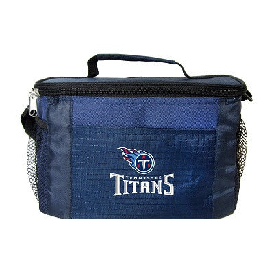 NFL Officially licensed products Tennessee Titans 6-Pack Cooler/Lunch Box This officially licensed 6-pack cooler / lunch box