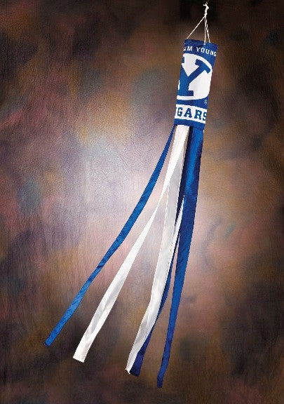 NCAA Officially licensed products Brigham Young Cougars Wind Sock These windsocks are brightly decorated with your college's