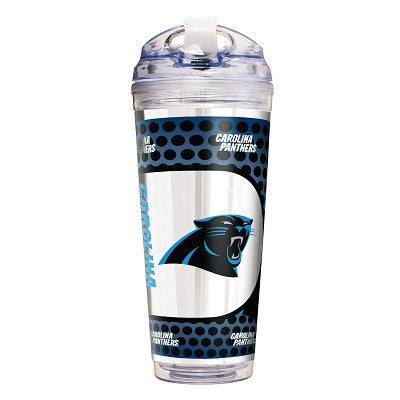 NFL Officially licensed products Carolina Panthers 24 Oz. Acrylic Tumbler w/ Straw This officially licensed 24 oz. acrylic t