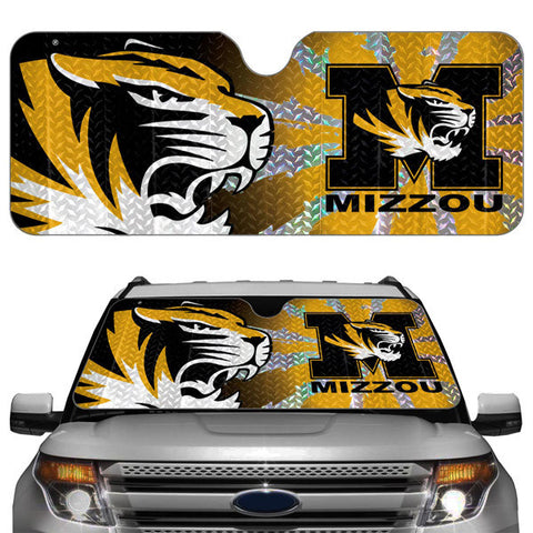 Missouri Tigers Auto Sun Shade