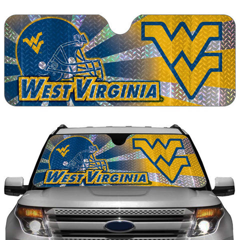 West Virginia Mountaineers Auto Sun Shade