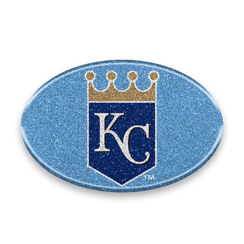 Kansas City Royals Auto Emblem - Oval Color Bling