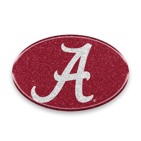 Alabama Crimson Tide Auto Emblem - Oval Color Bling