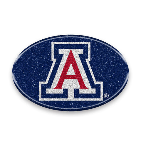 Arizona Wildcats Auto Emblem - Oval Color Bling