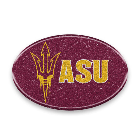 Arizona State Sun Devils Auto Emblem - Oval Color Bling