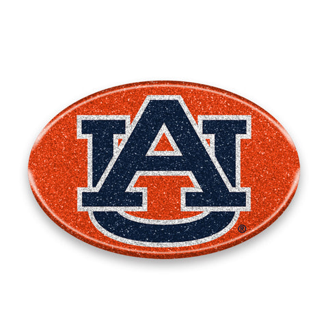 Auburn Tigers Auto Emblem - Oval Color Bling