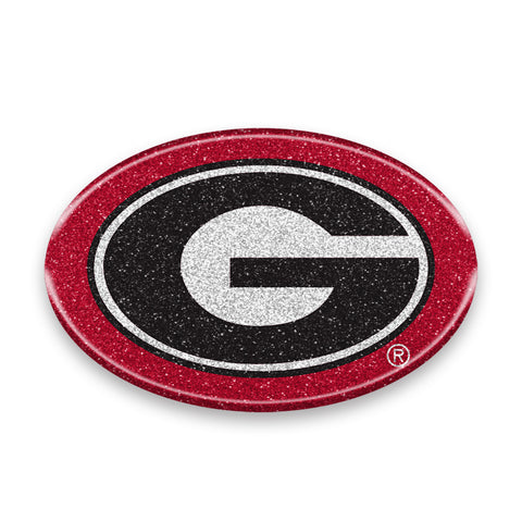 Georgia Bulldogs Auto Emblem - Oval Color Bling