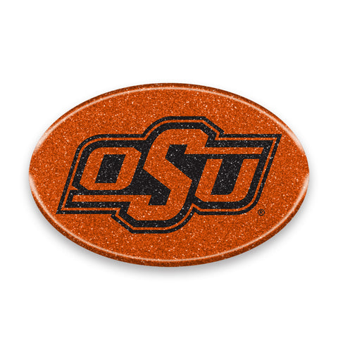 Oklahoma State Cowboys Auto Emblem - Oval Color Bling