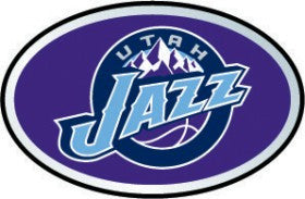 Utah Jazz Auto Emblem - Color