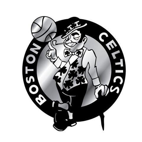 Boston Celtics Auto Emblem - Silver