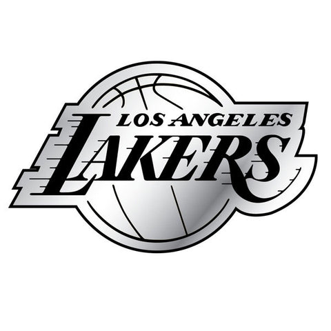 Los Angeles Lakers Auto Emblem - Silver