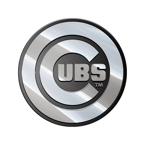 Chicago Cubs Auto Emblem - Premium Metal