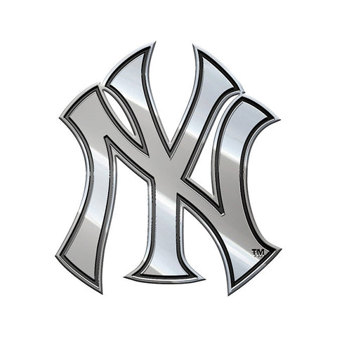 New York Yankees Auto Emblem - Premium Metal