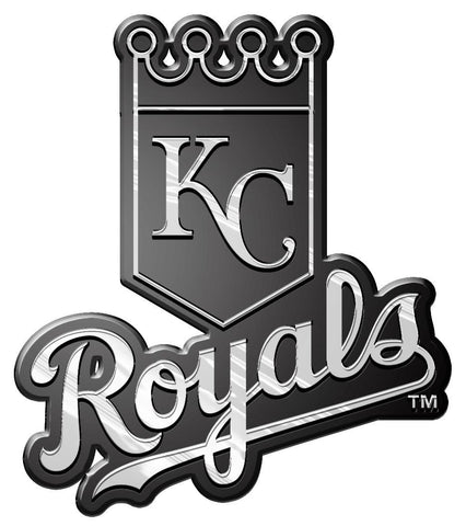 Kansas City Royals Auto Emblem - Silver