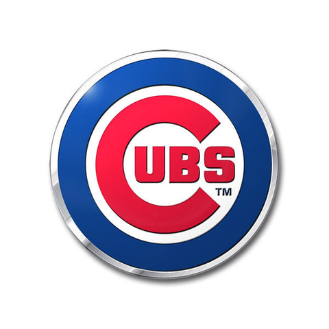 Chicago Cubs Auto Emblem - Color