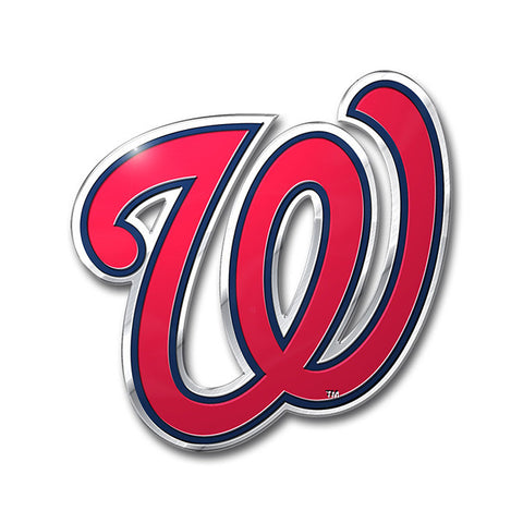 Washington Nationals Auto Emblem - Color