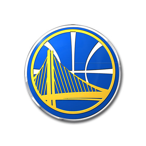 Golden State Warriors Auto Emblem - Color