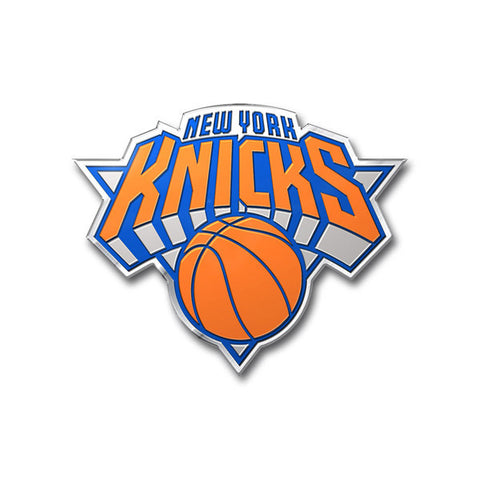 New York Knicks Auto Emblem - Color
