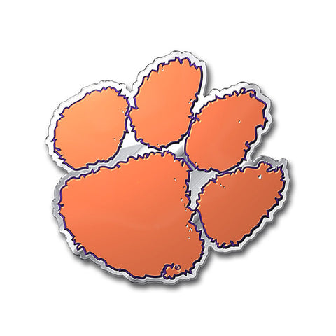 Clemson Tigers Auto Emblem - Color