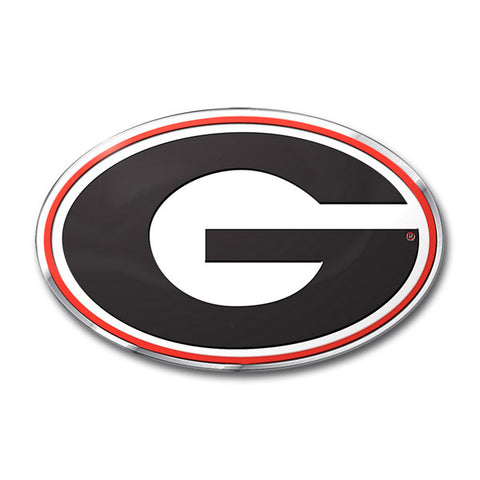 Georgia Bulldogs Auto Emblem - Color