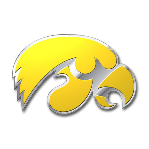 Iowa Hawkeyes Auto Emblem - Color
