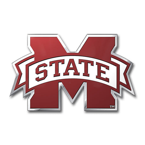Mississippi State Bulldogs Auto Emblem - Color