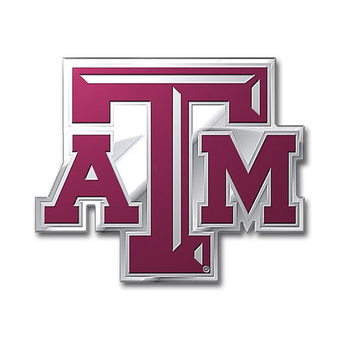 Texas A&M Aggies Auto Emblem - Color