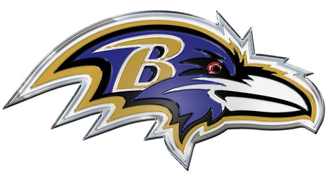 Baltimore Ravens Auto Emblem - Color