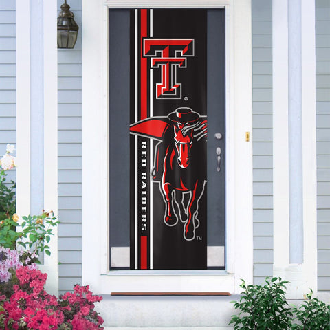 Texas Tech Red Raiders Banner Door