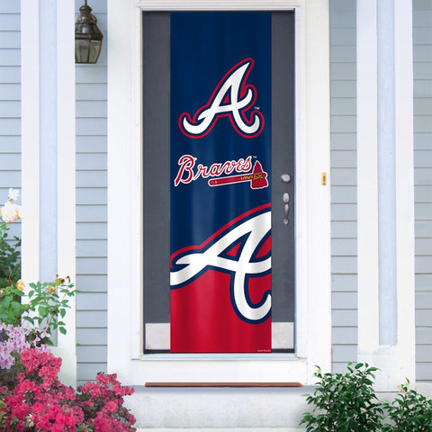 Atlanta Braves Banner Door