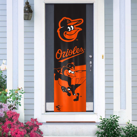 Baltimore Orioles Banner Door