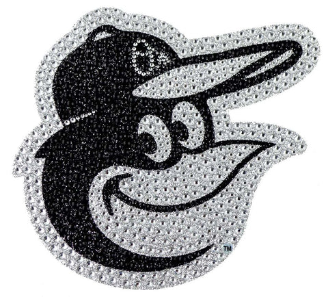 Baltimore Orioles Auto Emblem - Rhinestone Bling